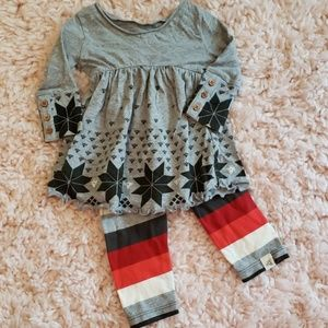 New Burts bees baby 0-3 mos outfit